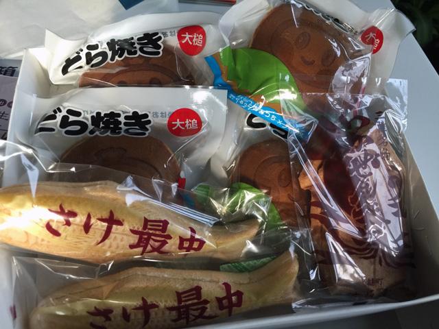 大阪屋さんのお菓子