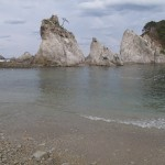 2013年5月の浄土ヶ浜