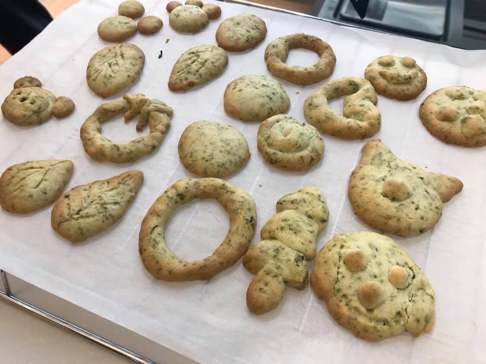 サデコ アップサイクルプロジェクト 茶殻クッキーづくり