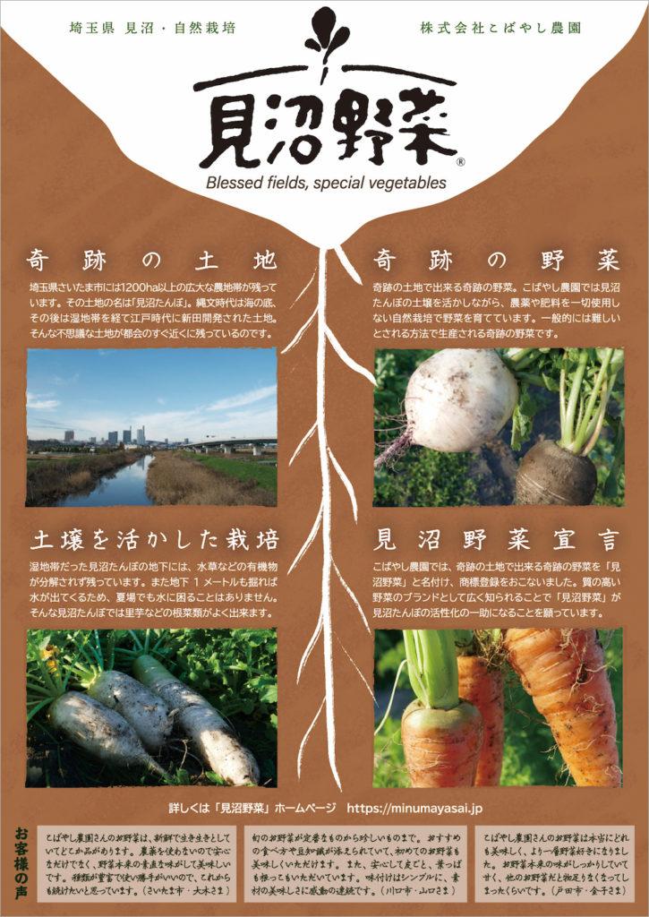 見沼野菜|小林農園